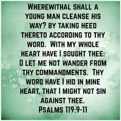psalm 119 kjv