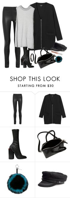 """""""Untitled #471"""" by mikashh ❤ liked on Polyvore featuring Joseph, Monki, Cheap Monday, Givenchy, Fendi, women's clothing, women, female, woman and misses"""
