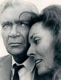Buddy Ebsen and Lee Meriwether from the premiere of the television program Barnaby Jones