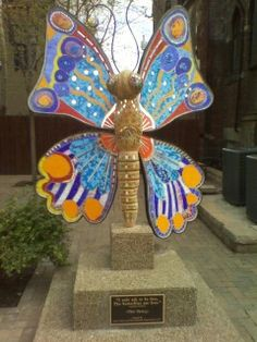 Butterfly in Braddock Pa