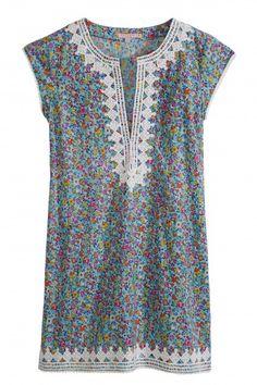 Ro Mini Elephant Print Dress  | Calypso St. Barth
