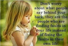 worry quotes and sayings | Favorite QUOTATIONS and sayings.... / don't worry about what people ...