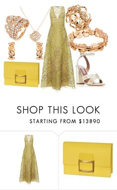 """Без названия #12141"" by zhebiton ❤ liked on Polyvore featuring Alberta Ferretti and Tabitha Simmons"