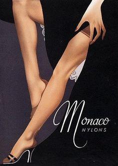 Anonymous, 1956, Monaco Nylons.