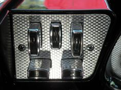 """Just a car guy : The push button gear selector switch aka """"typewriter transmission"""", inspired by Mayane"""