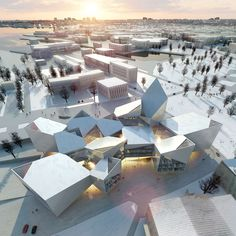 Tallinn Town Hall by Bjarke Ingels Group. City halls are something of an architectural oddity. They are vital to the overriding functionality of a place and impact our lives every day, yet they often...