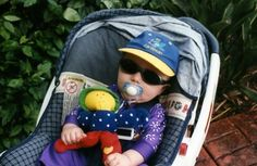 blog on items to bring when travelling with a small child