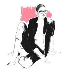 Judith van den Hoek Il·lustració Portafoli - Moda il·lustració artista i il·lustrador
