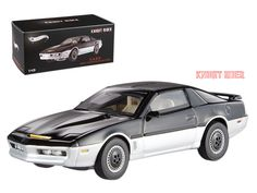 Hot wheels 1982 Pontiac Firebird Trans Am K.A.R.R. Knight Automated Roving Robot Elite Edition 1/43 Diecast Model Car by Hotwheels - Brand new 1:43 scale diecast car model of 1982 Pontiac Firebird Trans Am K.A.R.R. Knight Automated Roving Robot Elite Edition die cast car model by Hotwheels. Rubber tires. Limited Edition. Brand new box. Detailed interior, exterior. Comes in plastic display showcase. Dimensions approximately L-4 inches long.-Weight: 1. Height: 5. Width: 9. Box Weight: 1. Box…