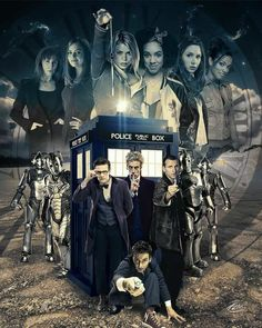 I like this art a lot, but again, it seems all I mostly see is the reboot Doctors represented in fan art