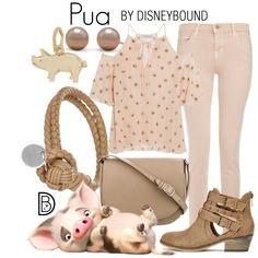 Disney Bound - Pua