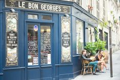 Le Bon George, Paris