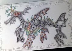 Leafy Sea Dragon by Gwen Lafleur -- http://gwenyth.typepad.com/.a/6a00d8341ceb7653ef0192aa85f4bc970d-popup