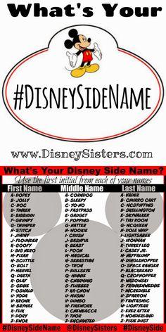 #DisneySideName
