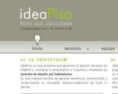 ideaPiso Ideas que Solucionan