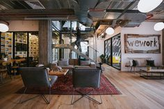 WeWork, a leadingcoworking platform that rents office space to startups and small companies, recently provided us with stunningphotos of their Israeli campus which is located in Herzliya. Take a look… ... Read More