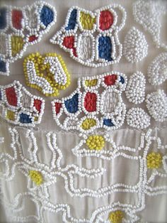 1920's French Beading
