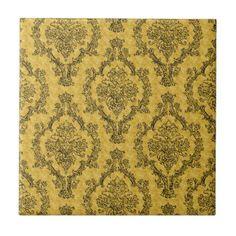 Decorative Tiles Australia Awesome Art Decoscalloppatterngoldwhitesilverchic Small Square Tile Design Inspiration