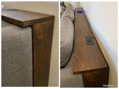 Behind Sofa Table, Shelf Behind Couch, Sofa Shelf, Home Living Room, Living Room Decor, Living Room Hacks, Dining Room, Small Living Room Storage, Narrow Living Room