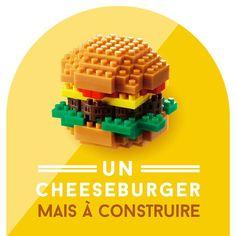 op et sans matière grasse 🍔 @nanoblock_france #nanoblock #burger #lego #gadget #deco #paris #champselysees #publicisdrugstor