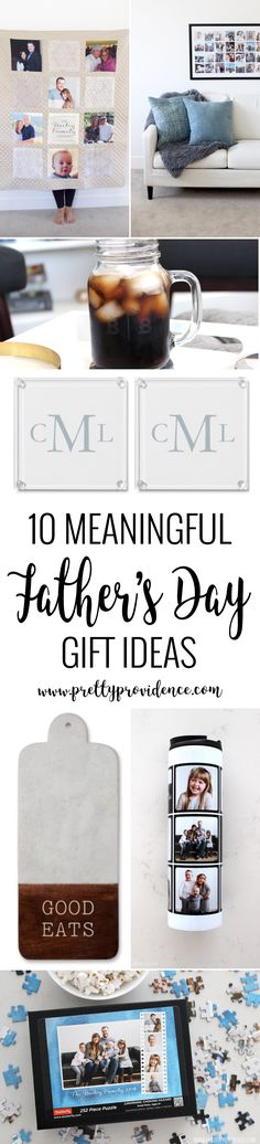 10 amazing personalized fathers day gift ideas! Gifts for the special man in your life, in all different price points! Lots of good ideas in here! #ad #shutterfly