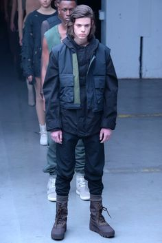 Kanye West x Adidas Originals Yeezy Season 1 RTW Fall 2015 - Slideshow