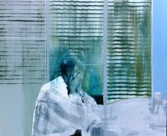 Kenneth Blom · The Office · 2011 · 100 x 120 cm Unusual Art, Art Academy, Art Portfolio, Artist Painting, Contemporary Paintings, Figurative Art, Cool Artwork, Art Inspo, Landscape Paintings
