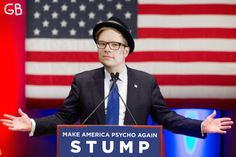 Like if you would vote for Patrick Stump