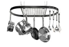 Kinetic Classicor Series Wrought-Iron Oval Pot Rack 12021, 2015 Amazon Top Rated Kitchen Storage & Organization #Kitchen