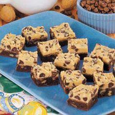 cookie dough brownies