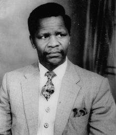 October 1917 Oliver Tambo was born on this date. He was an African politician and activist against apartheid.