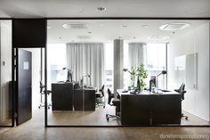 Open plan workstations - Spaceplanning and office interior design by Danielsen Spaceplanning.