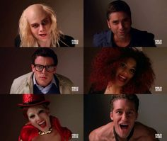 "Glee, Rocky Horror Picture Show! ""Creature of the night!"""
