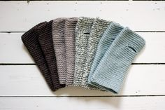 wrist warmers. too easy to make out of old sweaters (or scarves)