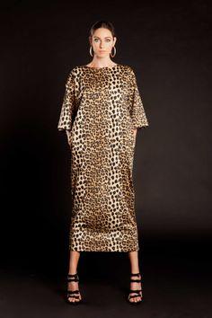 Leopard Print Dress (1)