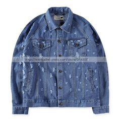 https://fashiongarments.biz/products/kanye-west-fear-of-god-ripped-holes-denim-jacket-original-style-back-zippr-design-bomber-coats-quality-version/,     USD 63.88/piece         Size: There are 4 Asian sizes (S M L XL) available for the listing   Asian size is about 2-size-smaller than US size, so make sure you have checked the following chart before purchasing: (please allow 1-2cm differs due to manual measurement, thanks)   Asian S (US XXS,160-165cm/55-60kg)   Asian M (US…