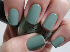 O.P.I Thanks A Windmillion nail polish...love this color, now if it were only work appropriate...