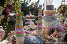 Colorfull Dessert Table