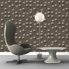 Wand In 3D Look Moderne Tapete Schlafzimmer Ideen, Wandgestaltung,  Comebacks, Wände,