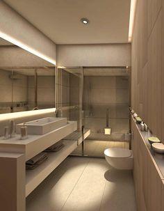 Hotel public toilet indoor lighting design design for Master interiorismo barcelona