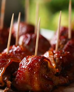 BBQ Bacon Ice Tray Meatballs Recipe by Tasty