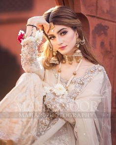 "Maha Wajahat Khan on Instagram: ""Gorgeous @emaankhan #mahasphotography @mahawajahatkhan @mahasphotographyofficial @faizas.salon Designer @shazia_kiyani…"" Pakistani Bridal Jewelry, Pakistani Bridal Dresses, Bridal Jewellery, Bridal Photoshoot, Bridal Shoot, Indian Wedding Bride, Indian Bridal, Bridal Pictures, Bridal Pics"