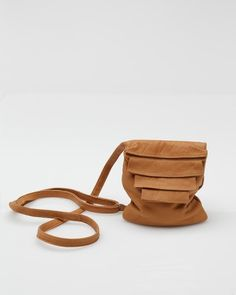 Alea Trio #bag In Desert by Collina Strada donates 50% of the bag to Donors Choice, a non-profit funding classroom projects at public schools via lucky magazine
