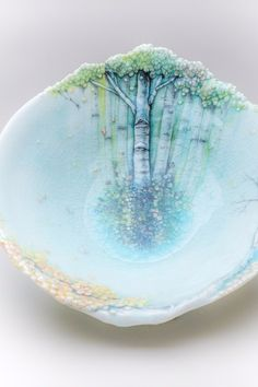 Heesoo Lee, Landscape Bowl, 2016. Courtesy of Jane Hartsook Gallery