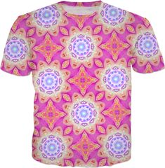 Super trippy T-Shirt by LARRY CARLSON.