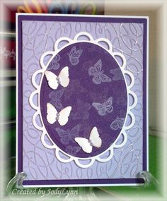 Bokeh Butterflies by jodylb - Cards and Paper Crafts at Splitcoaststampers