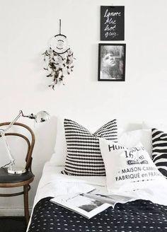 12 inspirações de quartos sem cabeceira