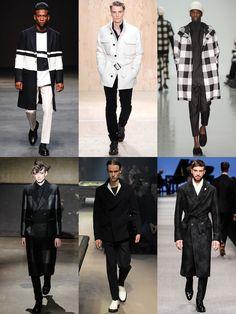 Ways To Wear Monochrome in 2014 Autumn/Winter: Monochrome Outerwear Lookbook Inspiration