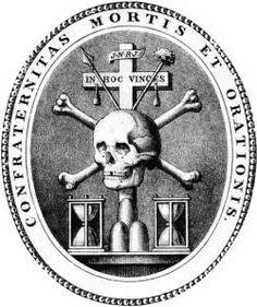 Stemma della Confraternita della Morte ed Orazione.