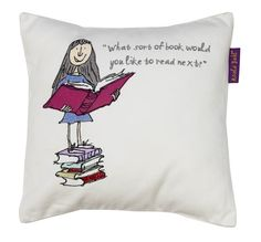 Matilda Cushion cushion by Roald Dahl